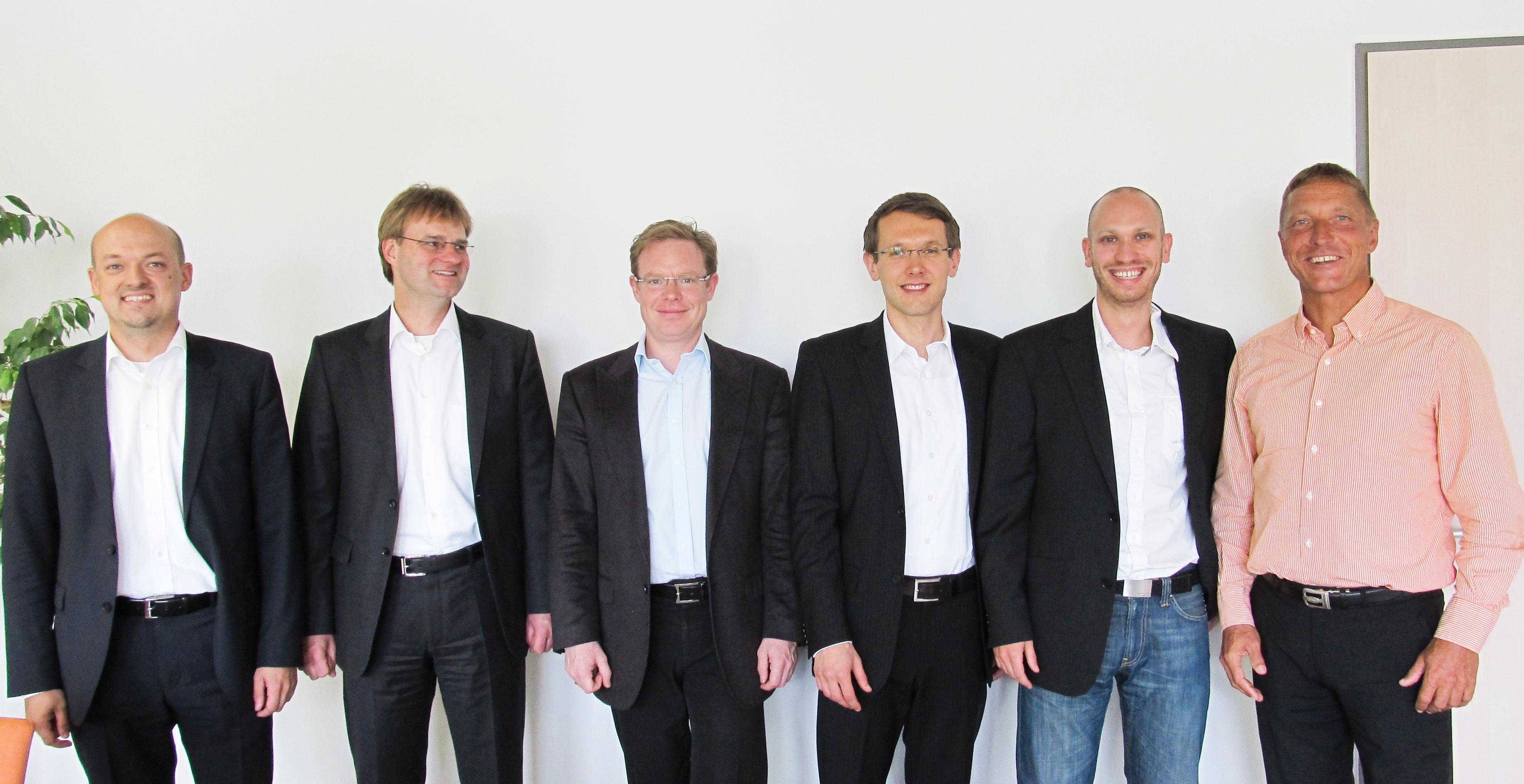 Bild Daniel Hübner, Stefan Friese, Stephan Schambach, Alexander Reschke, Dirk Ehrlich, Karsten Schneider