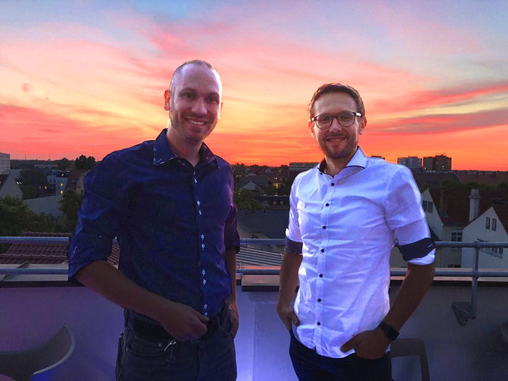 Bild Dirk Ehrlich und Alexander Reschke 2018