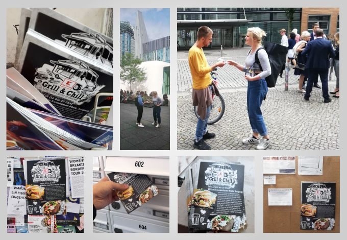 Bild Grill & Chill Streetfood Chillout by Kaufland Offline Kampagne